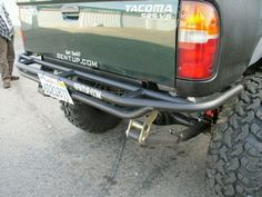 Quarter trim, tube bumper... I like it.
