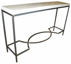 console tables with storage marble metal | The Mexican Restaurant in Maidstone
