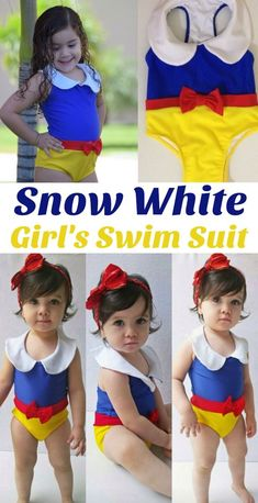 f901d24c1fd See more. Adorable snow white inspired swim suit for babies and little  girls. - affilaite Baby Swimming