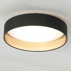 Black and gold minimalist light fixture