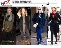 流行时尚:冬天里最容易变身时髦的利器 裹住脖子就气场十足 - 由全球时尚发表 - 文学城