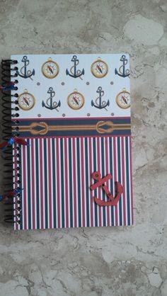 caderno - náutico