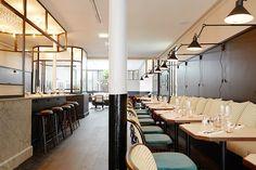 restaurant interiors - Google-haku