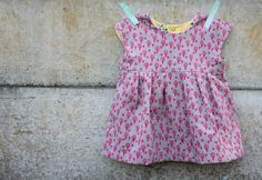 Geranium Tunic. Pattern by Made by Rae. Made by Miss Matatabi