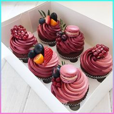 beautiful cupcakes - Birthday and Special Events Sweets & Cakes - Desserts - Dessert Recipes Delicious Desserts, Dessert Recipes, Yummy Food, Oreo Cheesecake Recipes, Delicious Cupcakes, Picnic Recipes, Baking Desserts, Dessert Food, Health Desserts