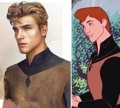 Les Princes Disney en version réaliste