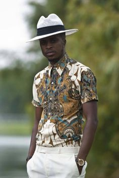 There's certain great style that only Africa can pull off.