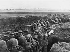 German trench WW1