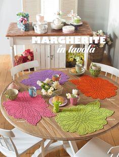 Hands of Fairy Avril 2015 Crochet Decoration, Crochet Home Decor, Filet Crochet, Crochet Strawberry, Table Runner Pattern, Crochet Tablecloth, Beautiful Crochet, Vintage Floral, Doilies