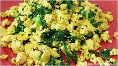 Green Boosted Tofu Scramble - Cooking with Plants Vegan Recipes Easy Healthy, Vegan Recipes Videos, Vegan Lunch Recipes, Whole Food Recipes, Healthy Snacks, Cooking Recipes, Healthy Wraps, Tofu Recipes, Vegan Food