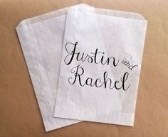 Wedding Favor Candy Buffet Bags Candy Favor Bags for Wedding Bride and Groom on Etsy, $25.00