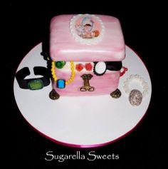 Jewelry cake box.  www.SugarellaSweets.com