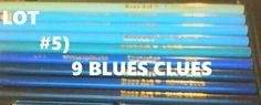 COLOR PENCILS LOT#5: 9 BLUES CLUES! CRAYOLA ROSE ART BRANDS