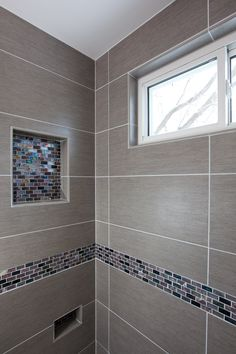 Custom cultured marble in the shower- the look of marble for a ...