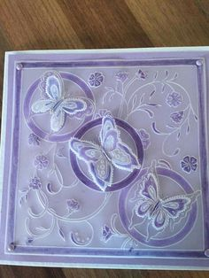 Hobbies And Crafts, Crafts To Make, Parchment Design, Barbara Gray, Parchment Cards, Vellum Paper, Mothers Day Cards, Butterfly Cards, Making Ideas