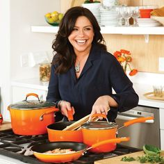 Rachael Ray, the famous chef and TV personality. If you would like any of her products, we have them at www.red-door.co.za
