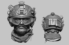 Hello Gentlemen, its been a while. This is my latest piece of work. I hope you like it. Military Special Forces, Military Men, 3d Character, Character Design, Army Helmet, Tactical Helmet, Military Action Figures, Combat Gear, Modelos 3d