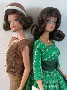 repro and original midge by kostis1667, via Flickr-I so remember that brown outfit.  I possibly may still have it.