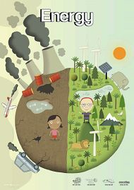 The front cover of the Energy Poster