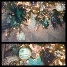 Christmas tree close up design by: Inspired Interiors by Brenda Tuschl