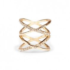 Keep it interesting with cool rings like this one