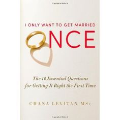 Reviewed by Mary DeKok Blowers for Readers' Favorite  I Only Want to Get Married Once: The 10 Essential Questions for Getting It Right the First Time is an audio book by Chana Levitan, who is a therapist and public speaker. Drawing from years of experience in counseling real couples, she has compiled a 10-question checklist to try to ferret out any potential issues with the relationship.   First building a foundation of goals, values, and interests, many guidelines are explained including…