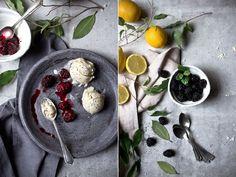 Zitronen-Mohn-Eis ohne Eismaschine | Foodlovin'