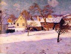 Clarence A. Gagnon - Galerie Alan Klinkhoff