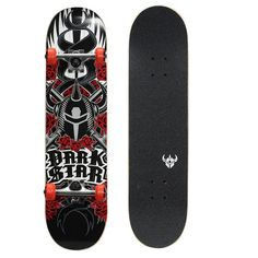 Kryptonics Darkstar 31-in. Complete Skateboard, Red