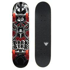 Kryptonics Darkstar 31-in. Complete Skateboard, Red