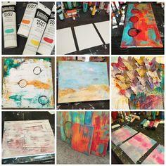 Art  Painting My Heart   Kimberly Kalil Designs