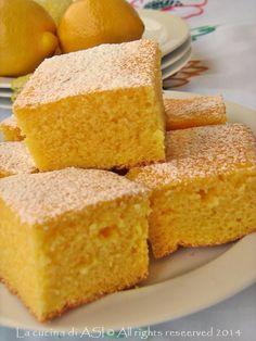 moist cake with lemon - torta soffice al limone