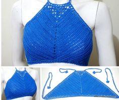 free crochet pattern, Rheema Halter Top 3