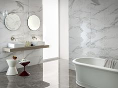LUXUSNÁ KÚPEĽŇA - Exkluzívne kúpeľne v štýle glamour / BENEVA Interior Styling, Interior Design, Style Tile, Tile Design, Wall Tiles, Minimalism, Bathtub, Glamour, House Design
