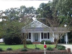 older remodeled home