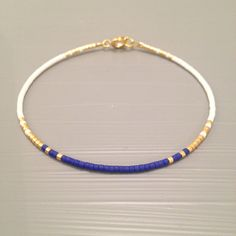 Delicate friendship Bracelet Bead Layering by ToccoDiLustro