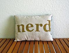 Nerd pillow.