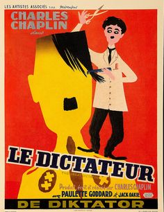 "grande dittatore_1 be ---  Belgian reissue of ""The Great Dictator"" 1950's."