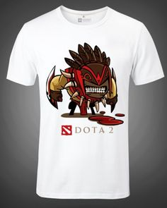 Dota 2 t shirt XXXL hero Strygwyr short sleeve t shirt for men