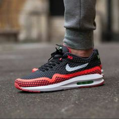 "Nike Air Max Lunar1 BR ""Black/Pure Platinum - Hot Lava"""