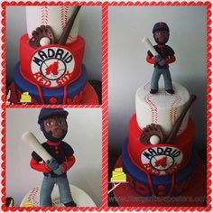 Tarta de los Red Sox de Madrid!