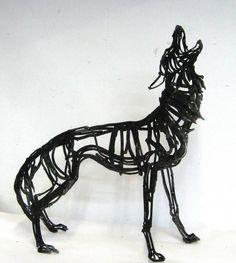 Art | アート | искусство | Arte | Kunst | Sculpture | 彫刻 | Skulptur | скульптура | Scultura | Escultura | Howling Wolf, Wendy Klemperer, 2009