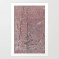 Jan. - Feb. 2017 - the referential element just sort of happened by accident, not intention...  painting acrylic abstract expressionism red grey layers texture lines circles ethereal