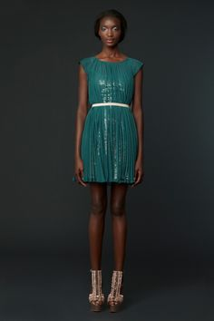 Erin Fetherston Fall12. Love the sparkles underneath.