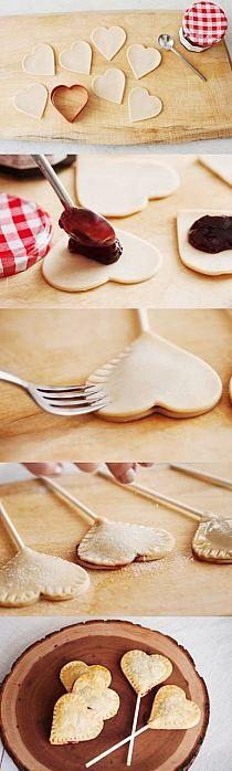 Ciasteczka na patyku