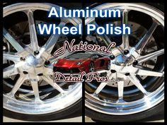 Aluminum wheel polish done by National Detail Pros. http://www.NationalDetailPros.com