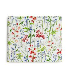 "Beautiful Ref for #Embroidery ""Liberty Flowers Photo Album - Add a bit of springtime flair to your favorite memories. Featuring a sprawling wildflower motif, this cheerful photo album is part of our exclusive collaboration with Liberty London."""