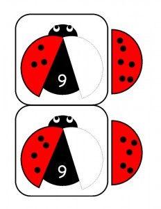 ladybugs math activities printables (5)