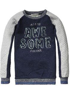 Sweater met ronde hals | Sweat | Jongenskleding bij Scotch & Soda