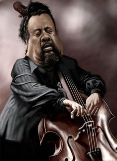 Charles Mingus - illustration of Ernesto Priego